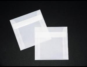 transparente Briefumschläge 160 x 160 mm