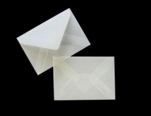 transparente Briefumschläge DIN C8