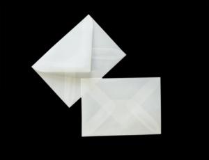 transparente Briefumschläge 81 x 112mm
