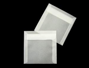 transparente Briefumschläge 100 x 100mm