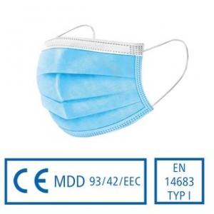 Medizinischer Mund- und Nasenschutz - Typ 1