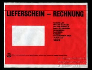 Dokumententaschen  DIN C5 bedruckt