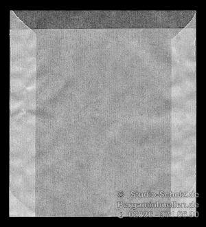 Pergaminhüllen für  9x9cm