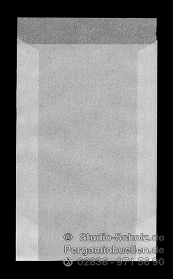 Pergaminhüllen für 8 x 13cm