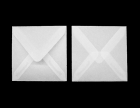 transparente Briefumschläge 74 x 74mm